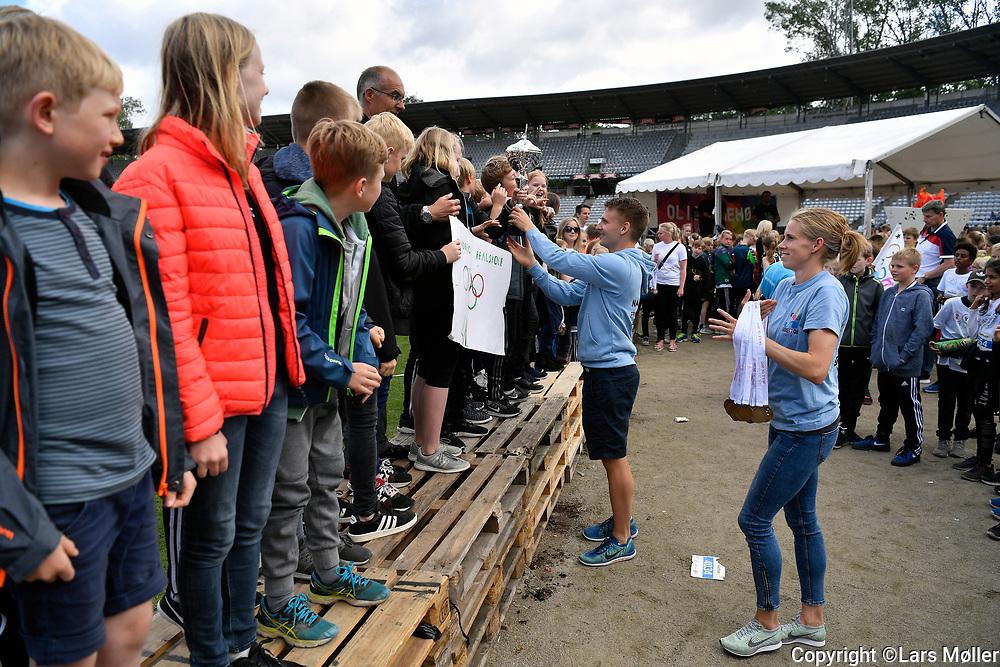 DK Caption:<br /> 20170613, Aarhus, Danmark:<br /> Skole OL p&aring; Aarhus Stadion. Dag 1.<br /> Foto: Lars M&oslash;ller<br /> UK Caption:<br /> 20170613, Aarhus, Danmark:<br /> Skole OL p&aring; Aarhus Stadion. Day 1<br /> Photo: Lars Moeller