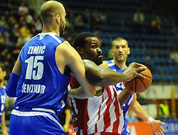 CRVENA ZVEZDA vs TAJFUN<br /> Beograd, 08.10.2015.<br /> foto: Nebojsa Parausic<br /> <br /> Kosarka, Crvena zvezda, Tajfun, Jadranska ABA liga, Sofoklis Schortsanitis