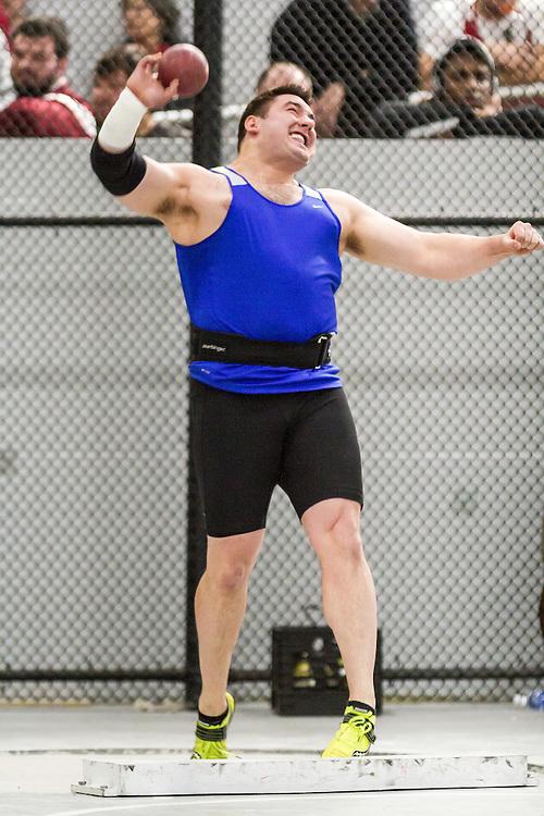 Boston University John Terrier Classic Indoor Track & Field: mens shot put, Nate Hunter, GBTC