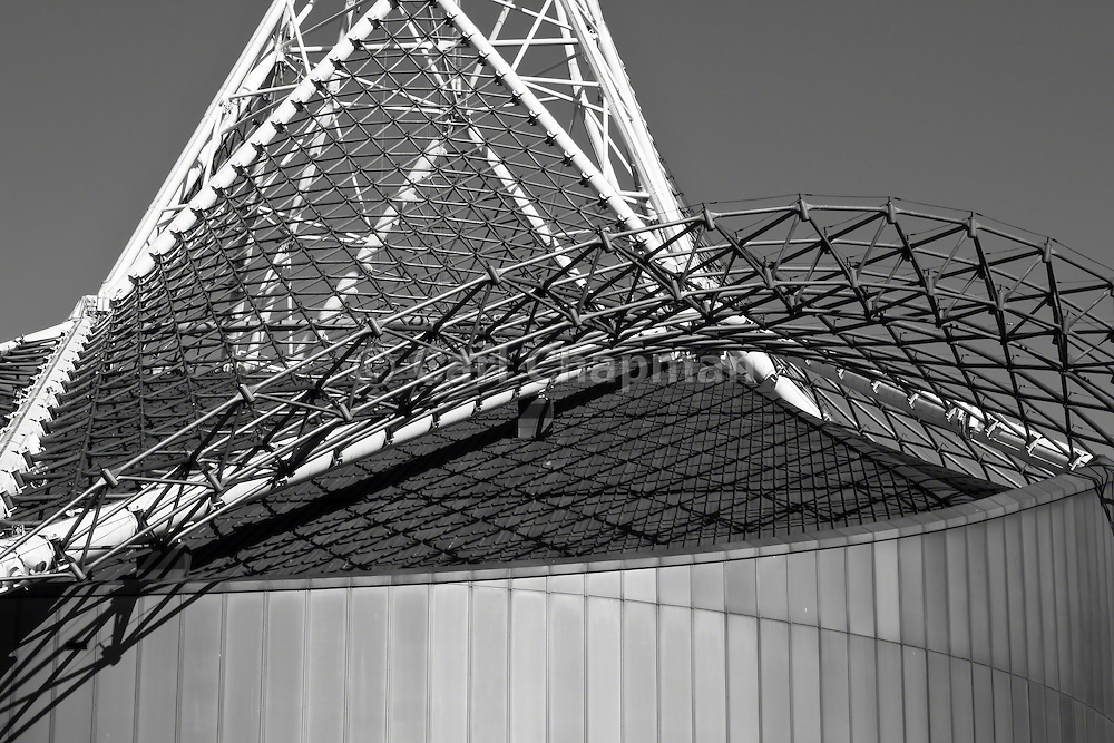 National Gallery of Victoria (NGV) Arts Centre wireframe tower - Melbourne
