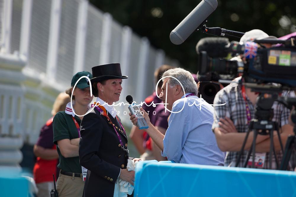 Van Grunsven Anky (NED)<br /> Olympic Games London 2012<br /> © Dirk Caremans