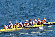 Cambridge. MA. USA. <br /> Championship men's Eights. OTC Amsterdam. NED. become the first European crew to win the Championship Eights at the 49th edition of the Head of the Charles.<br /> <br /> <br /> 15:08:45  Sunday  20/10/2013  <br /> <br /> [Mandatory Credit. Peter SPURRIER /Intersport Images]<br /> <br /> Orientation: Landscape