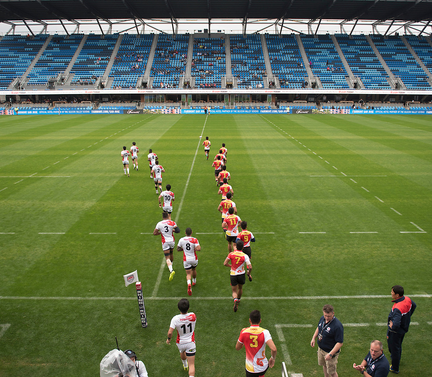 China play Japan at the Silicon Valley Sevens in San Jose, California. November 4, 2017. <br /> <br /> By Jack Megaw.<br /> <br /> CHNJPN<br /> <br /> <br /> <br /> www.jackmegaw.com<br /> <br /> jack@jackmegaw.com<br /> @jackmegawphoto<br /> [US] +1 610.764.3094<br /> [UK] +44 07481 764811