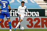 Leeds United forward Helder Costa (17), on loan from Wolverhampton Wanderers,  during the EFL Sky Bet Championship match between Wigan Athletic and Leeds United at the DW Stadium, Wigan, England on 17 August 2019.
