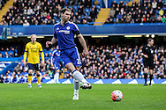 Branislav Ivanovic of Chelsea in action during the The FA Cup match between Chelsea and Scunthorpe United at Stamford Bridge, London, England on 10 January 2016. Photo by Ken Sparks.