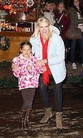 LONDON - NOVEMBER 22: Anneka Rice attended the opening night of 'Hyde Park Winter Wonderland' in Hyde Park, London, UK. November 22, 2012. (Photo by Richard Goldschmidt)