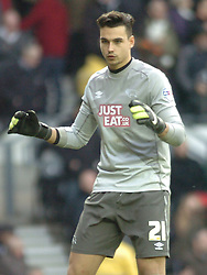 Kelle Roos Goalkeeper Derby County, Derby County v Reading, FA Cup 5th Round, The Ipro Stadium, Saturday 14th Febuary 2015