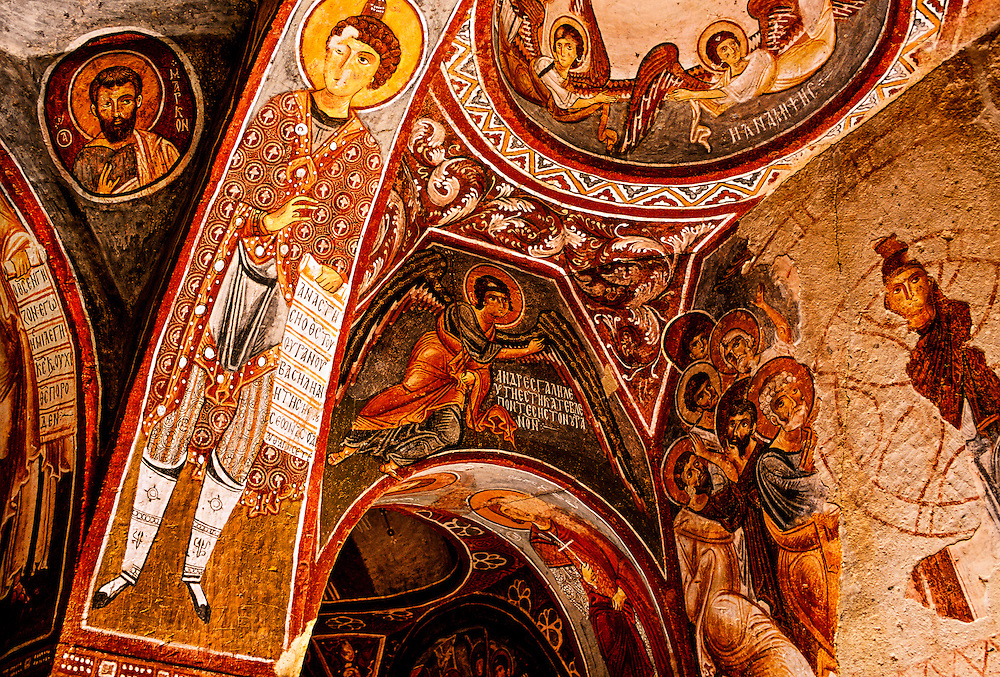 Apple Church (Elmali Kilise), Goreme Open Air Museum, Goreme, Cappadocia, Turkey