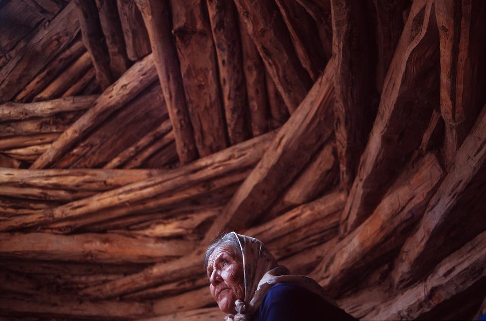 Pauline Whitesinger, Big Mountain, Arizona