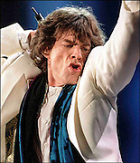 Mick Jagger performs with the Rolling Stones in Philadelphia.