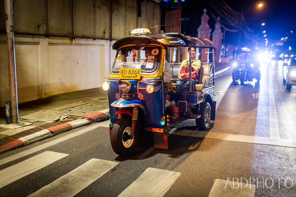 4-Hour Bangkok Midnight Food Tour by Tuk Tuk in Bangkok, Thailand Bangkok Thailand Tuk Tuk in Bangkok