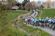 BELGIUM  / BELGIE / BELGIQUE / HARELBEKE / CYCLING / WIELRENNEN / CYCLISME / KLASSIEKER / 59TH RECORD BANK E3 HARELBEKE / UCI WORLD TOUR / UCI WORLDTOUR /  HARELBEKE TO HARELBEKE 206 KM / COTE DE TRIEU / KNOKTEBERG / PELETON /