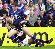 26/05/2002.Sport -Rugby Union - Parker Pen Shield Final.Sale vs Pontypridd..Mark Cueto   [Mandatory Credit, Peter Spurier/ Intersport Images].