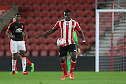 Southampton Olufela Olomola during the Barclays U21 Premier League match between U21 Southampton and U21 Manchester United at the St Mary's Stadium, Southampton, England on 25 April 2016. Photo by Phil Duncan.