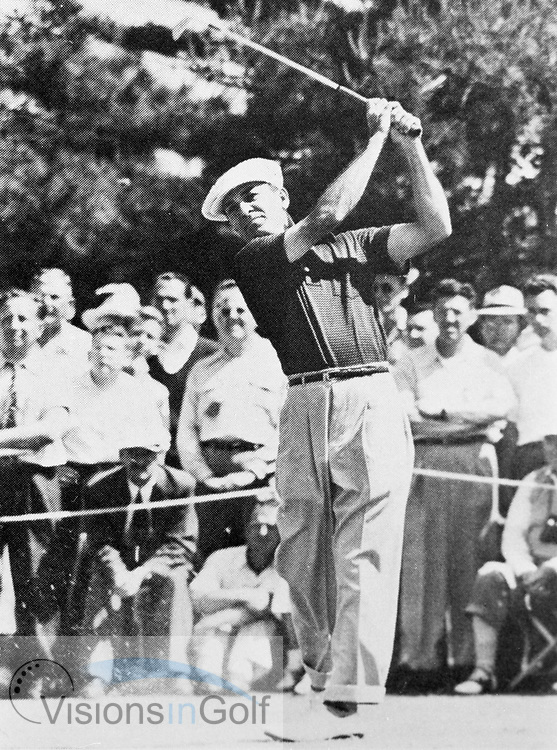Ben Hogan<br /> Picture Credit: &copy;Visions In Golf / Hobbs Golf Collection