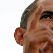 "Senator Barack Obama tells his supporters there is change coming  at the ""CHANGE WE NEED"" rally get out the early vote in Miami on Tuesday evening.  More than 30,00 attended."