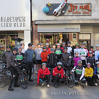 Cabbagetown Cycling Club April 19 2015