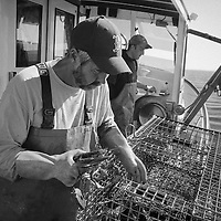 Maine Lobstermen by Paul Grossmann