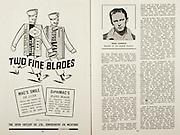 All Ireland Senior Hurling Championship Final,.Brochures,.07.09.1947, 09.07.1947, 7th September 1947,.Kilkenny 0-14, Cork 2-7,.Minor Galway v Tipperary, .Senior Kilkenny v Cork, .Croke Park,..Advertisements, The Irish Cutlery Co. Ltd. Two Fine Blades, .