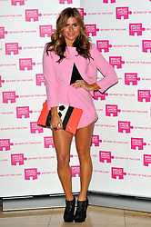 Zoe Hardman attends the launch party for Breast Cancer Campaign at Tower 42, London, England, October 1, 2012. Photo by Chris Joseph / i-Images.