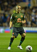 Leon Osman during the Capital One Cup match between Reading and Everton at the Madejski Stadium, Reading, England on 22 September 2015. Photo by Adam Rivers.