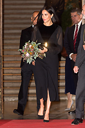 © Licensed to London News Pictures. 25/09/2018. Meghan, Duchess of Sussex attends the Royal Academy of Arts Oceania exhibition, UK. Photo credit: Ray Tang/LNP