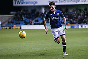 Ben Marshall of Millwall during the EFL Sky Bet Championship match between Millwall and Cardiff City at The Den, London, England on 9 February 2018. Picture by Toyin Oshodi.
