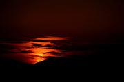 Meditarranean Sun-Set. Photographed in Athens, Greece