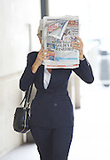 Andrew Marr Show arrivals <br /> at BBC Broadcasting House, London, Great Britain <br /> 18th September 2016 <br /> <br /> <br /> <br /> Jane Moore - columnist for the Sun <br /> <br /> <br /> <br /> Photograph by Elliott Franks <br /> Image licensed to Elliott Franks Photography Services