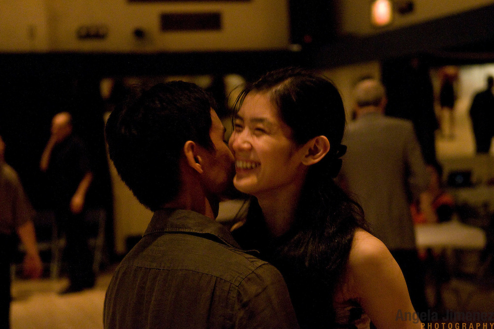 Date: 7/10/10.Desk: ESC.Slug: LATIN DANCE.Assign Id: 30098951A..Tango dancers Leonides Arpon, left, 29, and Ritsuko Sato, 30, attend the monthly Saturday night Tango event at the 92nd Street Y in New York City on July 10, 2010.  ..REPORTER NOTE: ARPON CONTACT LEONIDESARPON@GMAIL.COM OR 347-239-2030 FOR INTERVIEW..Photo by Angela Jimenez for The New York Times .photographer contact 917-586-0916