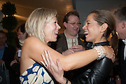 REBECCA ROGOFF; ALEX BREMER; VANESSA KNOX, Charity Gala Reception in aid of the Neuroblastoma Society, Bada Antiques and Fine art Fair. Duke of York Sq.  Sloane Sq. London. 19 March 2014.