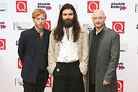 Biffy Clyro, The Q Awards 2017 - Red Carpet Arrivals, Roundhouse, London UK, 18 October 2017, Photo by Brett D. Cove