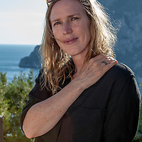 Miriam Toews<br /> Le Conversazioni, Capri, Italy, 4 July 2015<br /> <br /> Photograph by Steve Bisgrove/Writer Pictures<br /> <br /> WORLD RIGHTS
