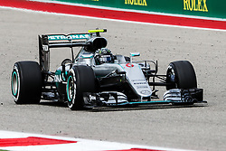 October 23, 2016 - Austin, Texas, U.S - Mercedes driver Nico Rosberg (6) of Germany in action during the race at the Circuit of the Americas race track in Austin,Texas. (Credit Image: © Dan Wozniak via ZUMA Wire)