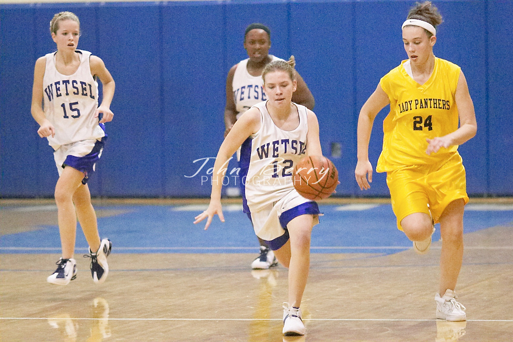 8th Grade Girls Basketball..vs Rappahannock..Fourth Period..December 9, 2004
