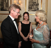 HRH The Duchess of Cornwall and guests