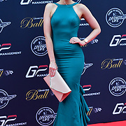 Grace Levy attends the 2018 Grand Prix Ball held at The Hurlingham Club on July 4, 2018 in London, England.