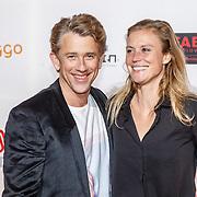 NLD/Amsterdam/20160307 - TV Beelden 2016, Waldemar Torenstra en partner Sophie Hilbrand
