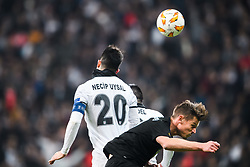 December 13, 2018 - Istanbul, Turkey - 181213 Necip Uysal of Besiktas and Markus Rosenberg of MalmÅ¡ FF during the Europa league match between Besiktas and MalmÅ¡ FF on December 13, 2018 in Istanbul..Photo: Petter Arvidson / BILDBYRN / kod PA / 92175 (Credit Image: © Petter Arvidson/Bildbyran via ZUMA Press)