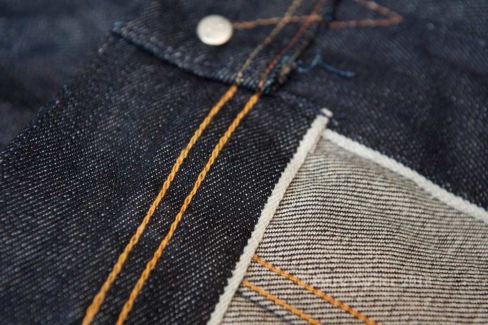 Picture shows Emmett Jeans 2PJ 14.7oz selvedge denim jacket.<br /> Copenhagen 14/10/2013.<br /> <br /> Credit should read: Picture by Mark Larner<br /> NO UNAUTHORISED USAGE