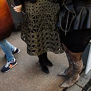 Milan Fashion Week, public au defile Jenny