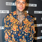 NLD/Amsterdam/20171009 - opening webshop About You, Gregory van der Wiel