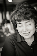 Keum Seon Ji, owner of the restaurant Gogung located in Myeongdong, Seoul, South Korea.