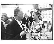 Michael White, Anouskha Fisz, Lisa Marie cocktails, Martinez Hotel, Cannes Film festival 10th May1997© Copyright Photograph by Dafydd Jones 66 Stockwell Park Rd. London SW9 0DA Tel 020 7733 0108 www.dafjones.com