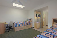 Interior image of Bachelor Enlisted Quarters at Quantico Marine Base by Jeffrey Sauers of Commercial Photographics