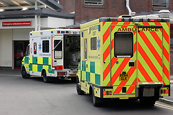 Ambulances; East Surrey Hospital UK