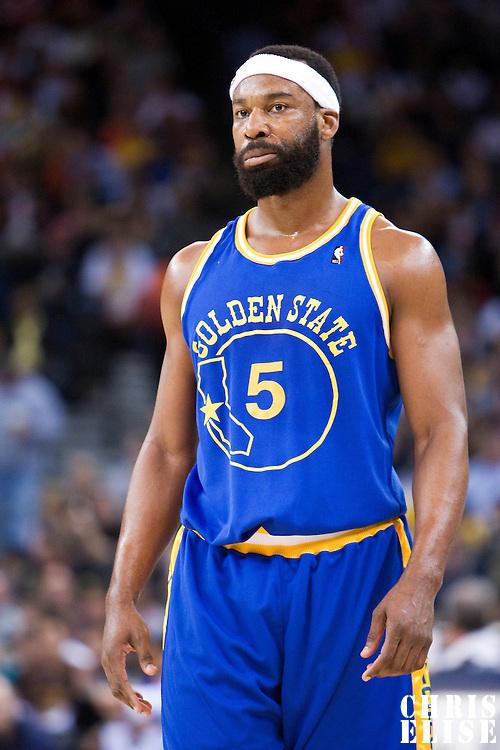 08 April 2008: Golden State Warriors guard Baron Davis is seen during the Golden State Warriors 140-132 victory over the Sacramento Kings at the Oracle  Arena, in Oakland, California, USA.