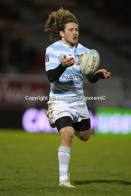 Francois Steyn - Racing Metro 92 /Albi - Top 14 Top14 - Rugby - 27.11.2009 - hauteur action