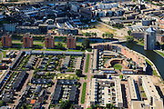 Nederland, Gelderland, Apeldoorn, 30-06-2011; de wijk Welgelegen met Apeldoornsch Kanaal. New housing area in the City of Apeldoorn..luchtfoto (toeslag), aerial photo (additional fee required).copyright foto/photo Siebe Swart