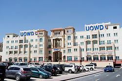 Dubai campus building of Australian University of Wollongong located in Internet City Dubai United Arab Emirates